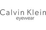 Calvin Klein glasses logo