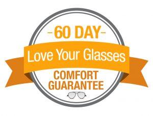Jacksons Opticians 60 day guarantee