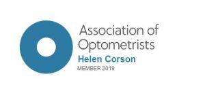 Jacksons Opticians Nantwich Association of Optometrists logo