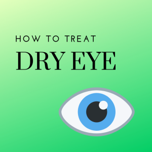 Treating Dry Eye infographic